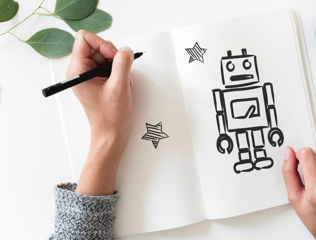 Robot rajzolás